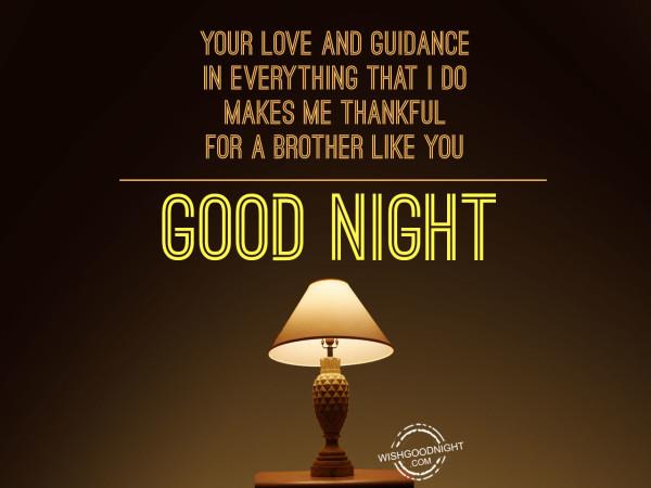 I am thankful to my God. Good Night