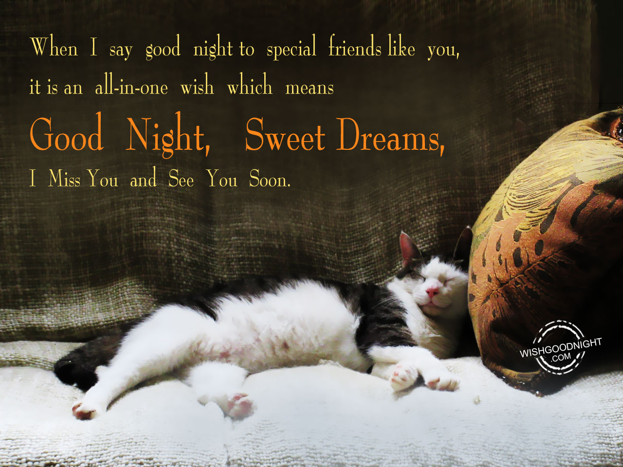 I Miss You Friend Good Night Good Night Pictures Wishgoodnightcom