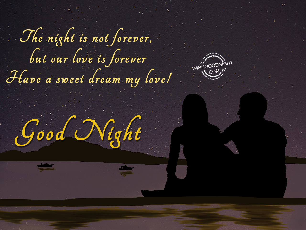 good night wishes for husband  good night pictures