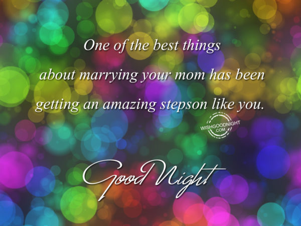 An amazing son like you – Good Night Son