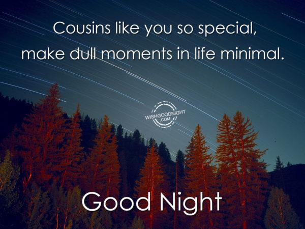 Cousins like you, Good Night