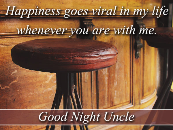 Happiness goes viral, Good Night Uncle
