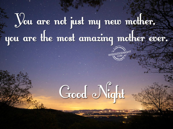 The most amazing mother, Good Night Mom